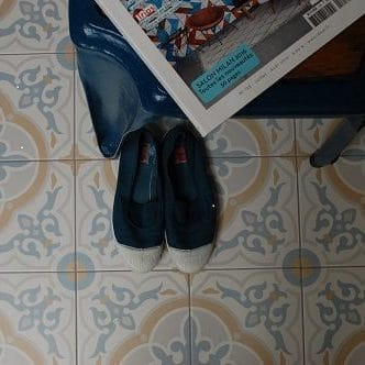 Keramische patroontegel Gaetine Bleu